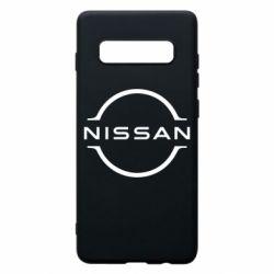Чехол для Samsung S10+ Nissan new logo