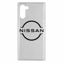 Чехол для Samsung Note 10 Nissan new logo