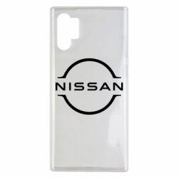 Чехол для Samsung Note 10 Plus Nissan new logo