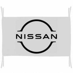 Прапор Nissan new logo