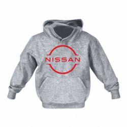 Дитяча толстовка на флісі Nissan new logo