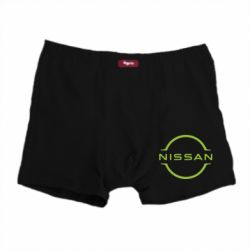 Чоловічі труси Nissan new logo