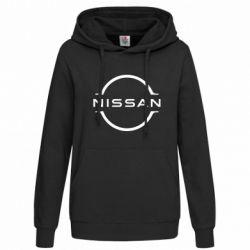 Толстовка жіноча Nissan new logo
