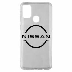 Чехол для Samsung M30s Nissan new logo