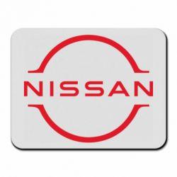 Килимок для миші Nissan new logo