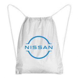 Рюкзак-мішок Nissan new logo