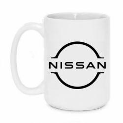 Кружка 420ml Nissan new logo