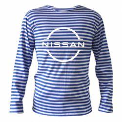 Тільник з довгим рукавом Nissan new logo