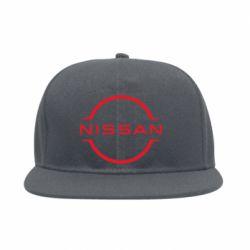 Снепбек Nissan new logo