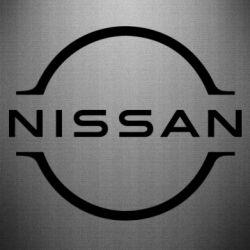 Наклейка Nissan new logo