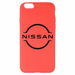 Чохол для iPhone 6 Plus/6S Plus Nissan new logo