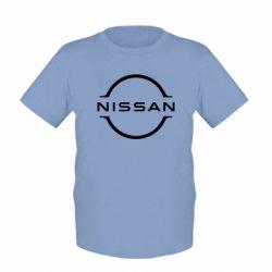 Дитяча футболка Nissan new logo