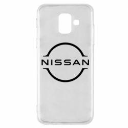 Чохол для Samsung A6 2018 Nissan new logo