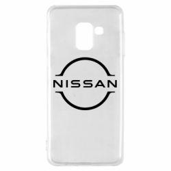 Чохол для Samsung A8 2018 Nissan new logo