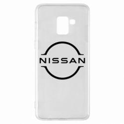Чохол для Samsung A8+ 2018 Nissan new logo