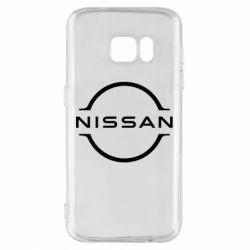 Чехол для Samsung S7 Nissan new logo
