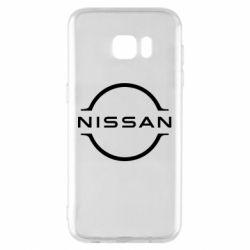 Чехол для Samsung S7 EDGE Nissan new logo