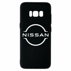Чехол для Samsung S8 Nissan new logo