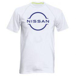 Чоловіча спортивна футболка Nissan new logo