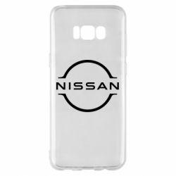Чехол для Samsung S8+ Nissan new logo