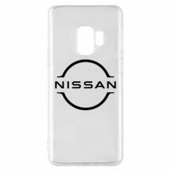 Чехол для Samsung S9 Nissan new logo
