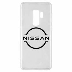 Чехол для Samsung S9+ Nissan new logo