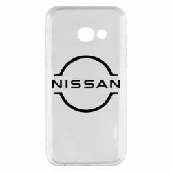 Чохол для Samsung A3 2017 Nissan new logo