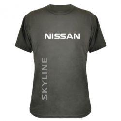 Камуфляжная футболка Nissan Slyline - FatLine