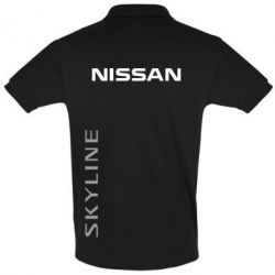 Футболка Поло Nissan Slyline - FatLine