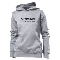 Женская толстовка Nissan Sport Adventure - FatLine