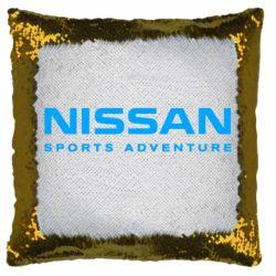 Подушка-хамелеон Nissan Sport Adventure