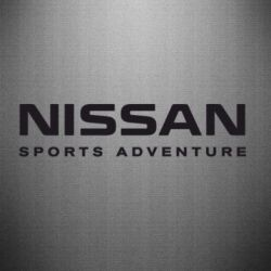 Наклейка Nissan Sport Adventure - FatLine
