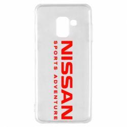 Чохол для Samsung A8 2018 Nissan Sport Adventure