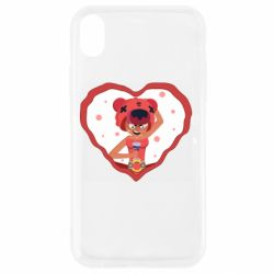 Чехол для iPhone XR Nita heart