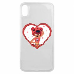 Чехол для iPhone Xs Max Nita heart