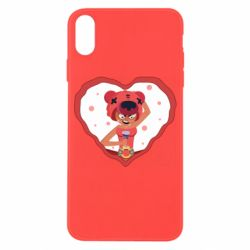 Чехол для iPhone X/Xs Nita heart