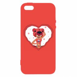 Чехол для iPhone5/5S/SE Nita heart