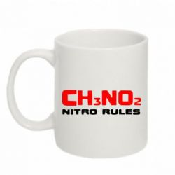 Кружка 320ml Nitro Rules - FatLine