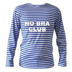 Тельняшка с длинным рукавом No bra club