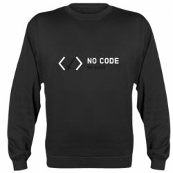 Реглан (свитшот) No code, no bugs and sword