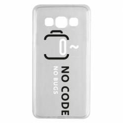 Чехол для Samsung A3 2015 No code, no bugs