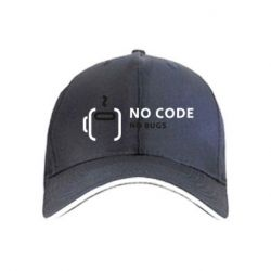 Кепка No code, no bugs