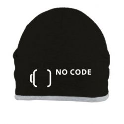 Шапка No code, no bugs