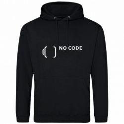 Мужская толстовка No code, no bugs