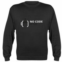 Реглан (свитшот) No code, no bugs