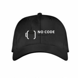 Детская кепка No code, no bugs
