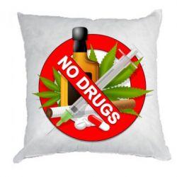 Подушка No Drugs - FatLine