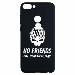 Чехол для Huawei P Smart No friends on powder day - FatLine