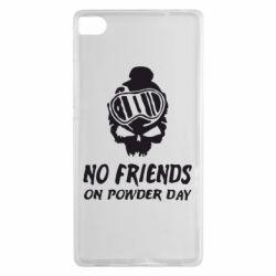 Чехол для Huawei P8 No friends on powder day - FatLine