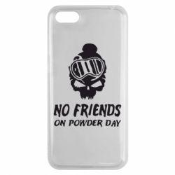 Чехол для Huawei Y5 2018 No friends on powder day - FatLine